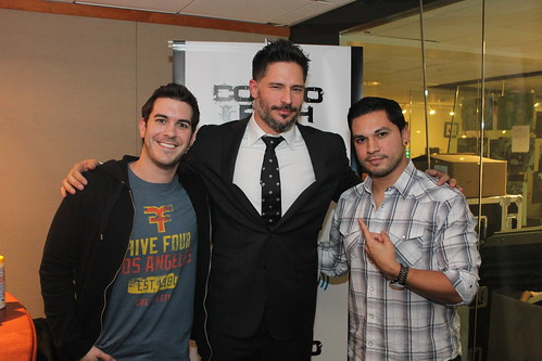 Joe Manganiello on the Covino & Rich Show