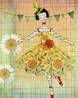 Artist Inspiration - Julie Nutting - Collage