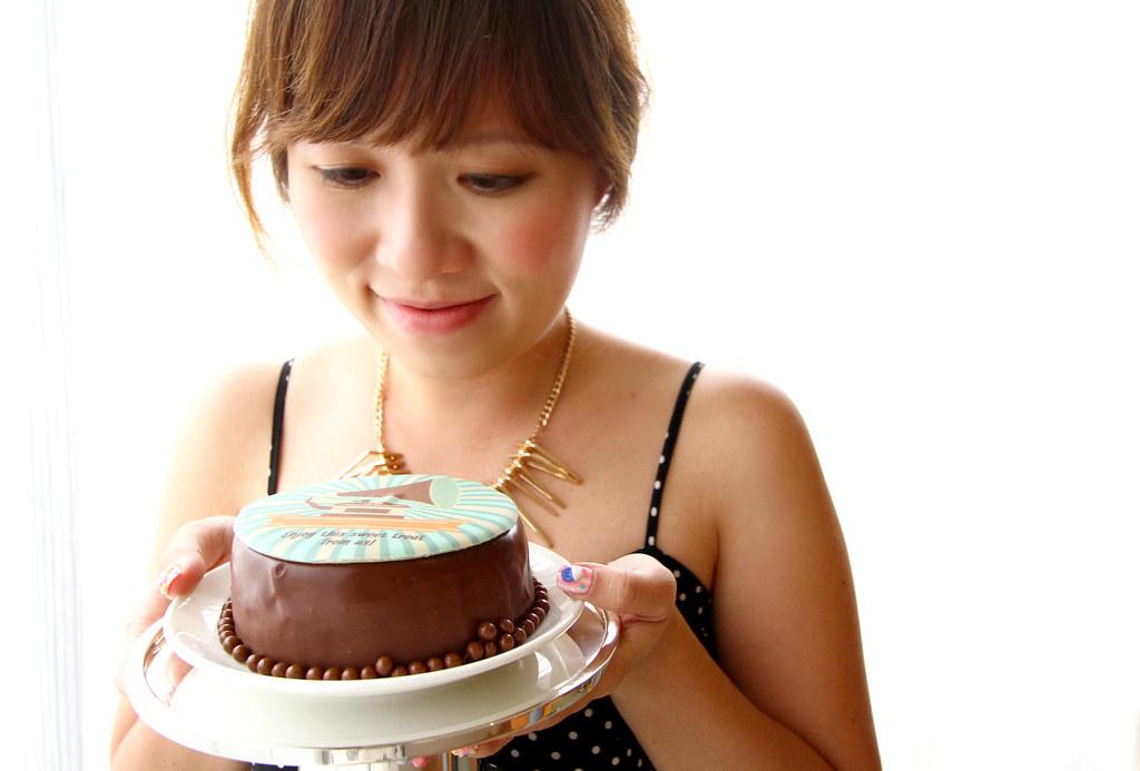Cake from Grand Hyatt Singapore