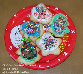 100_9016 - Christmsa Cookies I Decorated - 12-13-2013
