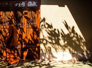 the hidden monk