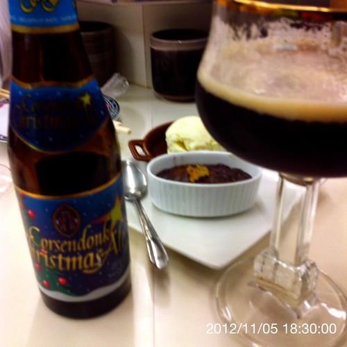 ベルギービール大好き!!コルセンドンク・クリスマス・エール Corsendonk Christmas Ale @あじわい回転寿司 禅(ZEN)