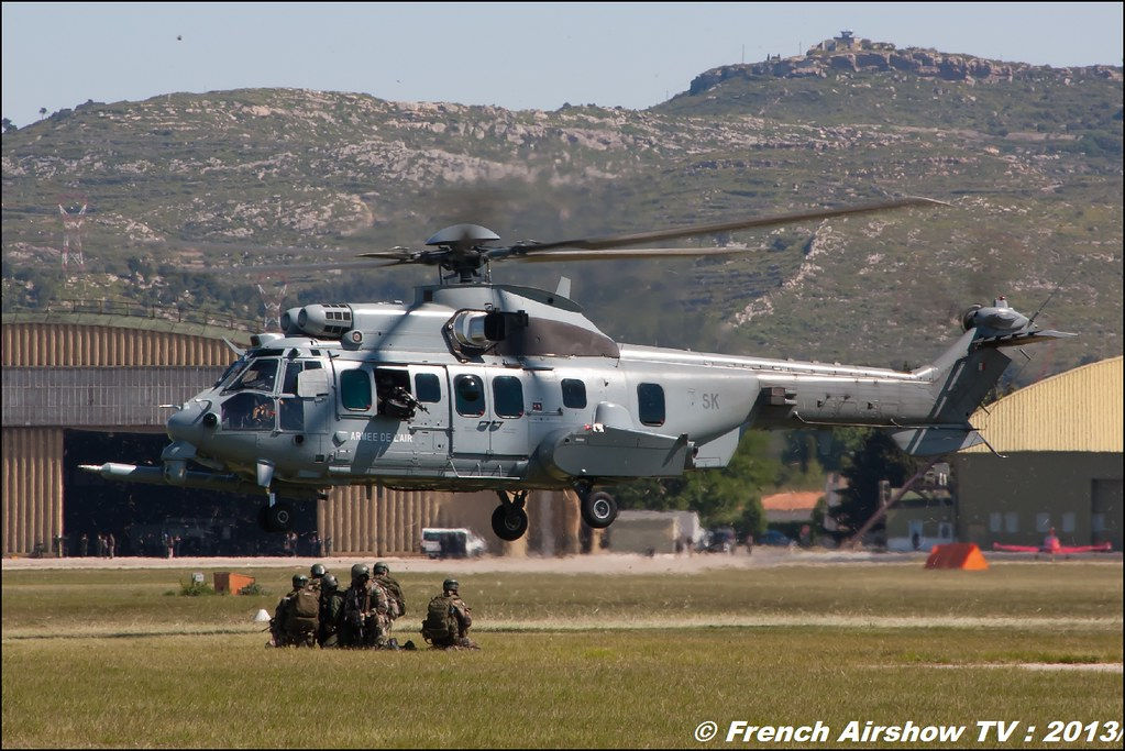 EC-725 Caracal , 60 ans Patrouille de France, Meeting Aerien 2013