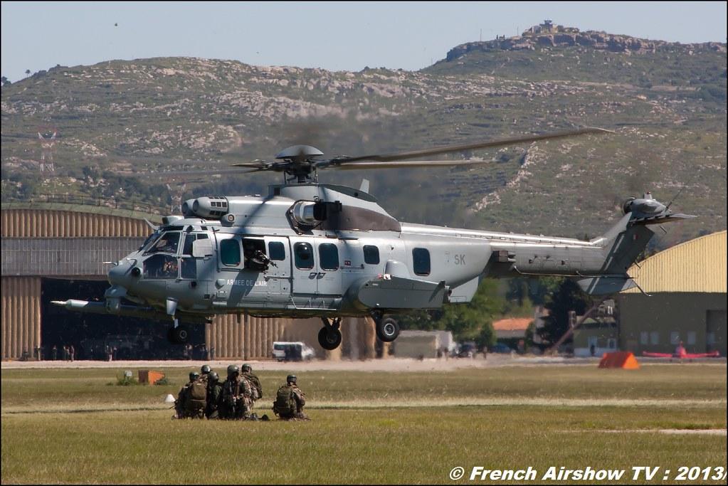 EC-725 Caracal , 60 ans Patrouille de France, Meeting Aerien 2013