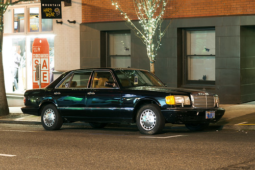 1988 Mercedes-Benz 300 SEL by Curtis Gregory Perry