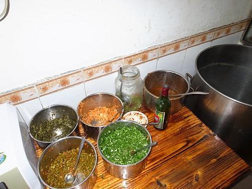 桂林米粉の具材