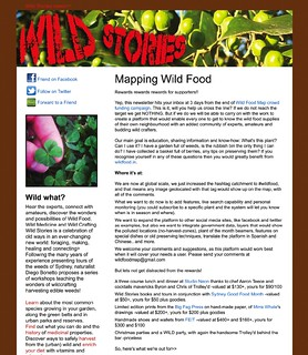wild food map screengrab