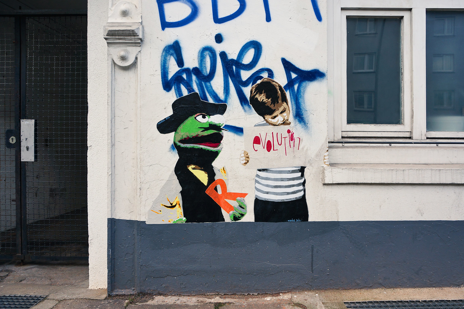 Gefahrengebiet Streetart Hamburg
