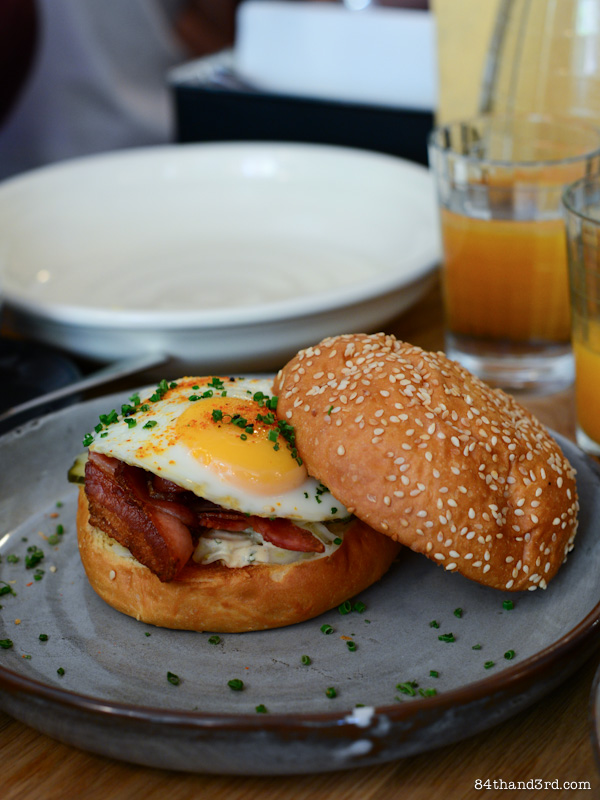 Three Williams Cafe - Sydney - Bacon & Egg Roll