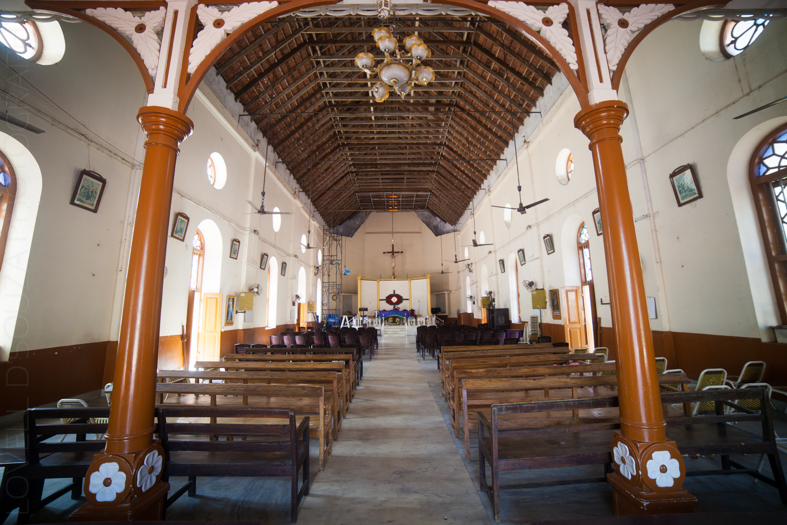 Inside the St Peter's &St Paul's Church, Fort Kochi