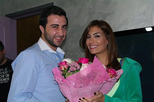 عبد الكريم حمدان و رويدا عطية