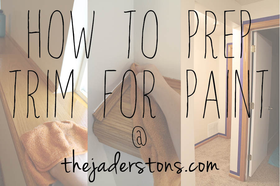 How to Prep Trim for Paint