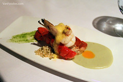 Vanilla Poached Canadian Lobster Tail