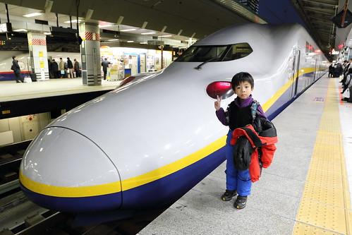 搭新幹線前往越後湯澤