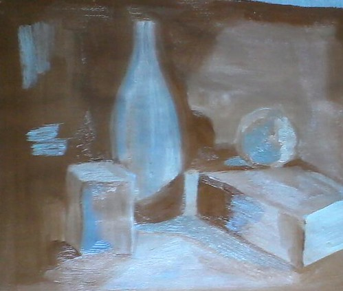 still life study in oii by dibujandoarte