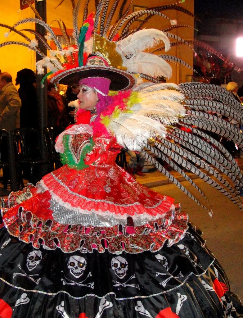 2. Detalle del carnaval. Autor, Azahar