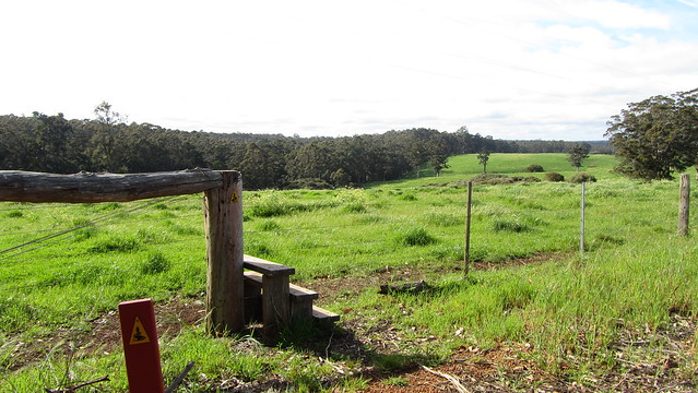 Day 31: A rare stile on the Bibbulmun