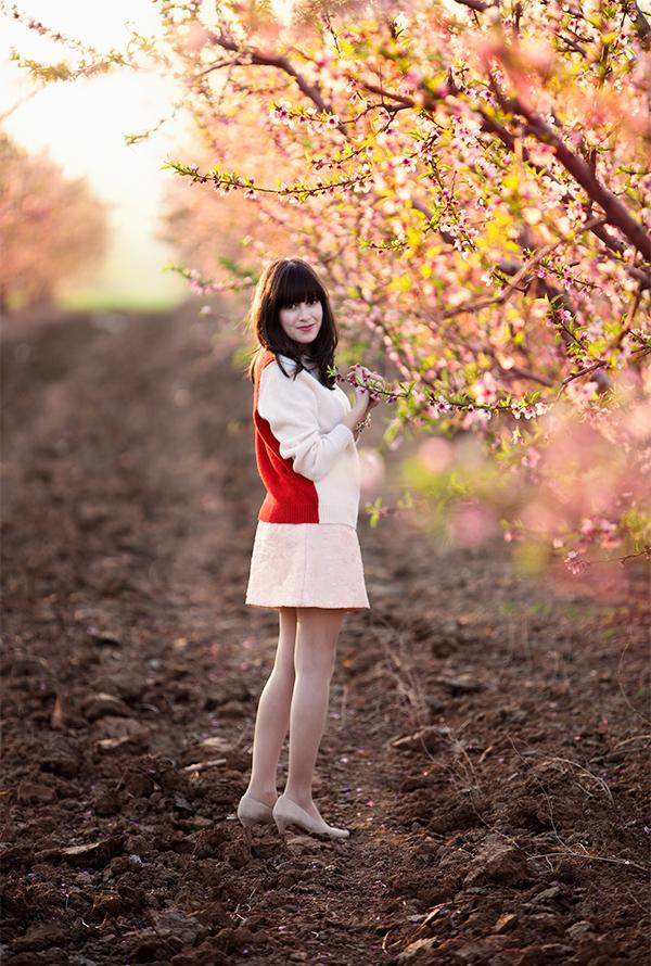 cos sweater, topshop skirt ,אפונה בלוג אופנה, בלוגרית אופנה