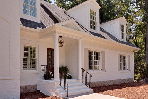 painting brick whiteThings That Inspire Painted brick houses what color to paint the