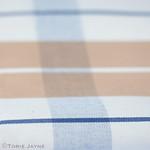 Canvas cotton check