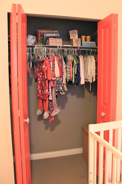 First Time Fancy Toddler Closet Organization