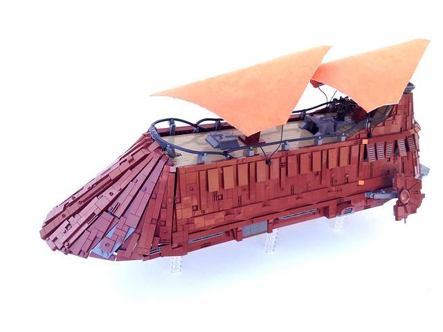 UCS Sail Barge - MOC