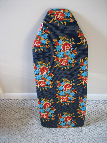 Nice, new ironing board cover