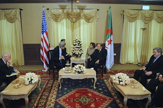 Secretary Kerry, President Bouteflika, and Their Ambassadors Meet in Algiers