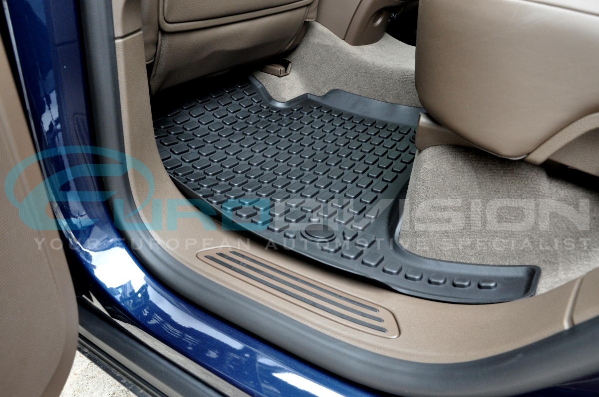 Porsche Cayenne Rubber Floor Mats Photos