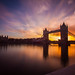 Tower Bridge sunrise [Explored] by Flayvin