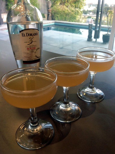 Daiquiri (Difford's ratio) with El Dorado Demerara rum (3 years)
