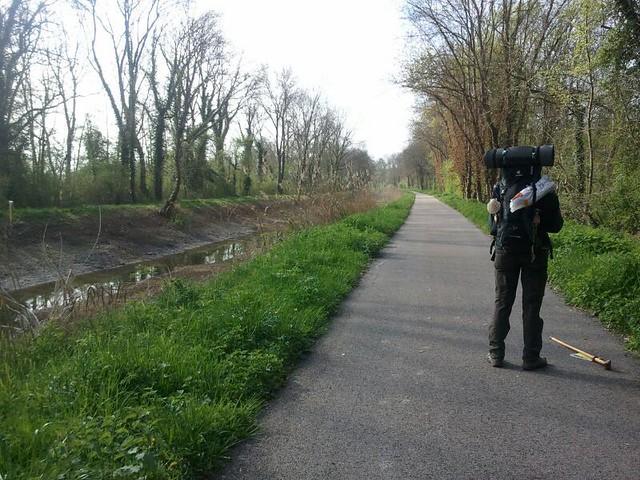 op weg naaer Troyes