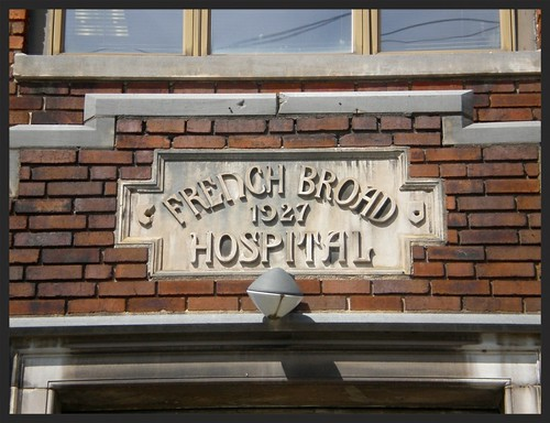 French Broad Hospital, Asheville, NC/USA--1927.