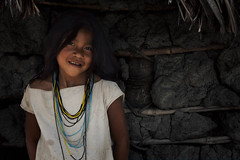 Kogui Indigenous Girl - Sierra Nevada de Santa Marta - A lovely Smile ! 🇨🇴