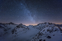 Aletsch Milky Way
