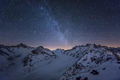 Aletsch Milky Way