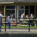 People at Preston Docks - 1