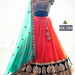 DESIGNR LEHENGA (NIRAJ FASHION MART LATEST MUTLICOLOUR DUPATTA GEORGETTE & LEHENGA NET WITH BANGLORI SILK FREE SIZE BLOUSE)