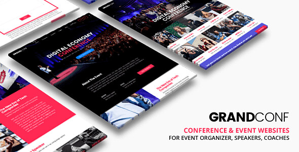 Grand Conference WordPress Theme free download
