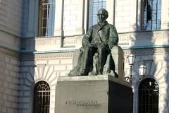 Statue of J.V. Snellman, Helsinki, Finland