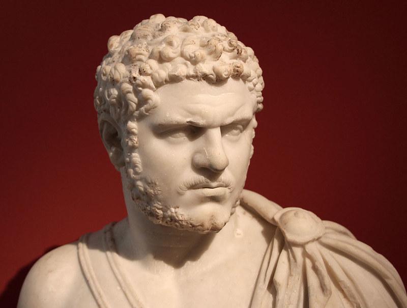 Roman bust of Caracalla in the Antikensammlung Berlin