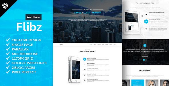 Flibz WordPress Theme free download