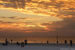 Dusk At Clearwater Beach