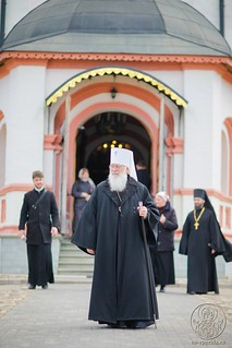 Литургия в Иверском монастыре 880