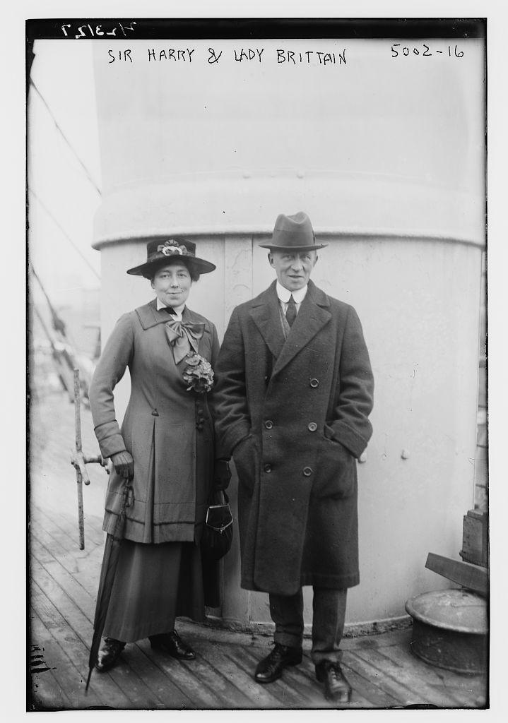Sir Harry & Lady Brittain (LOC)