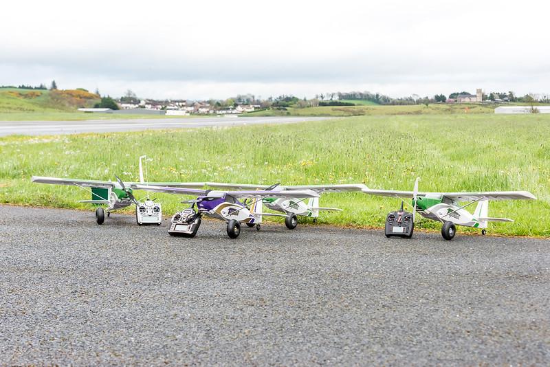 Just some of the club Durafly Tunda fleet!