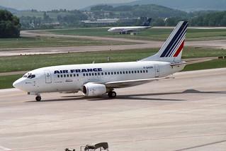 Air France Boeing 737-53A F-GHXM