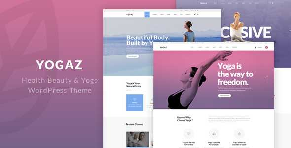 Yogaz WordPress Theme free download
