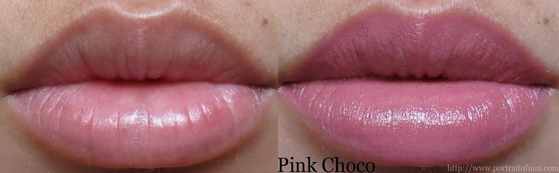 Performance Colors Semi Matte Lipstick in Pink Choco