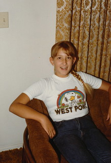 Colorado   -   Thornton  -  2667 E.99th Ave.   -   Jessica at John & Pat's   -   July 1984